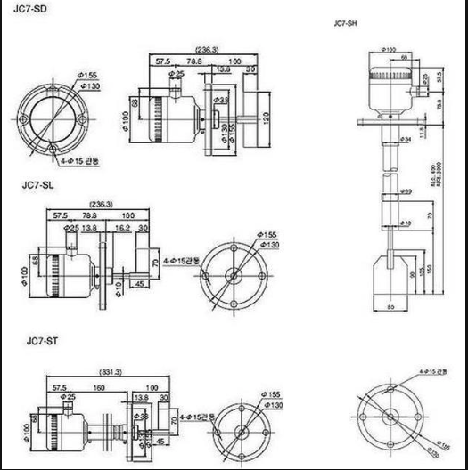 Thông số cảm biến Parker JC7-SD
