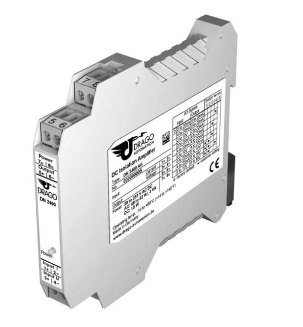 Bộ chuyển đổi analog 1-5V, 0-10v ra dòng 4-20ma Dn2400