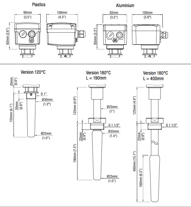 Cảm biến báo mức điện dung CN4020