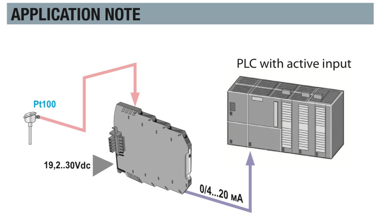 Bộ chuyển đổi nhiệt độ PT100 ra 4-20ma K109PT