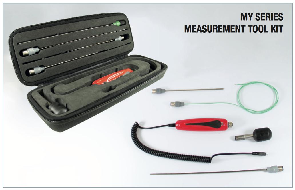 Bộ công cụ đo nhiệt độ Bộ đo nhiệt độ cầm tay MY Series - Kết nối máy tính