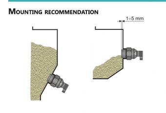 Cách lắp Sơ đồ dấu dây Cảm Biến Báo Mức Hạt Nhựa, Ngũ Cốc, Bột, Gỗ