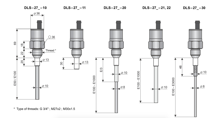 Các dòng cảm biến đo mức - Hướng dẫn mua cảm biến đo mức - cảm biến báo đầy báo cạn