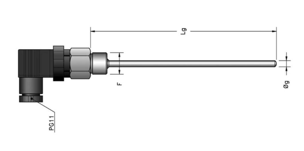 Kết nối dạng ISO chuẩn 4 chân