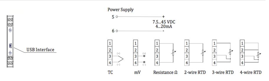 Cách đấu dây kết nối với cảm biến của MST660