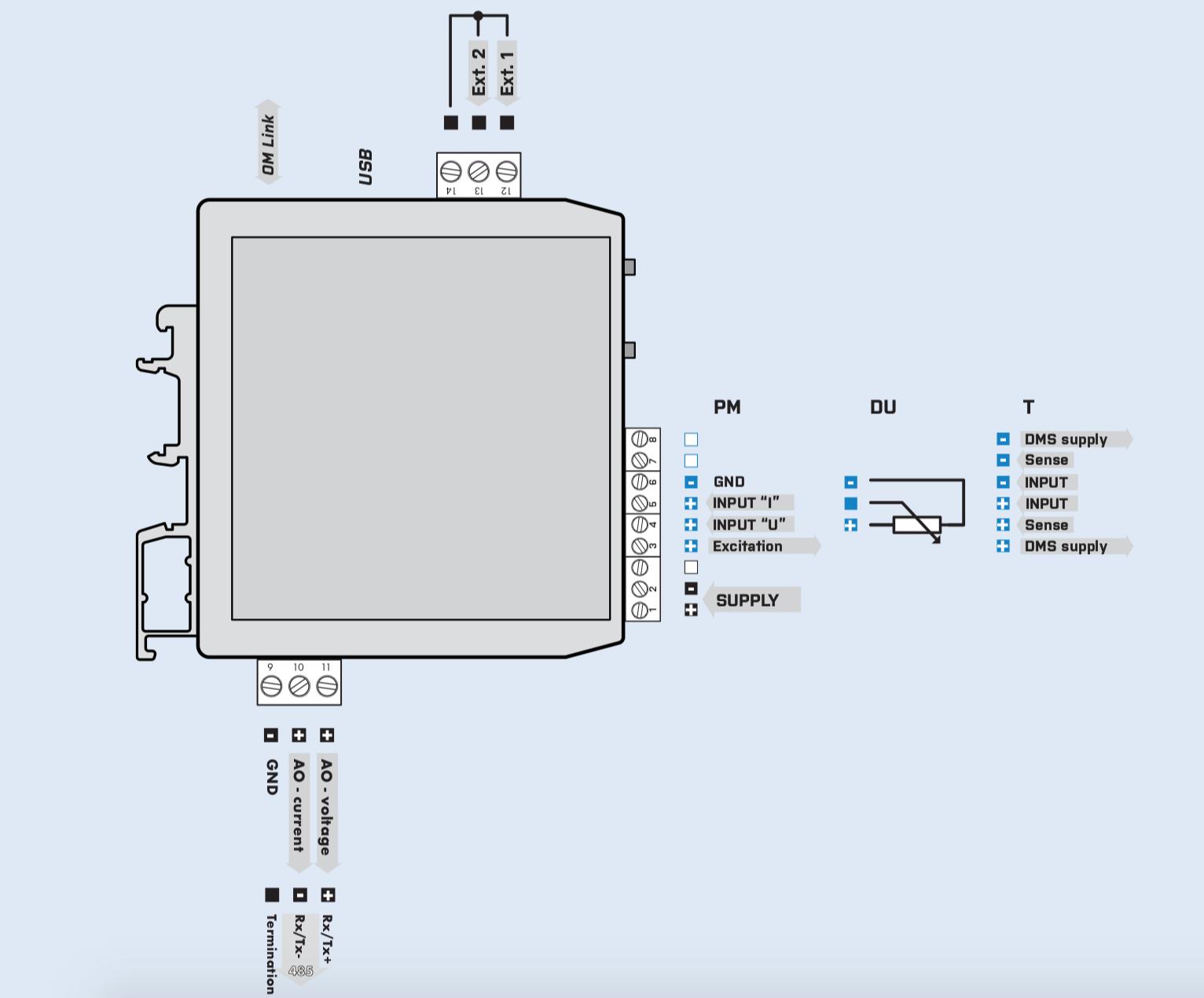 Cách đấu dây bộ OMX380DU