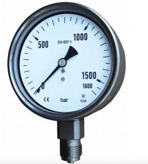đồng hồ đo áp suất dạng phổ biến