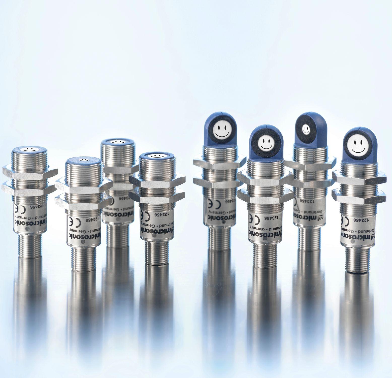 Cảm biến siêu âm báo mức của Microsonic