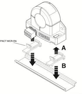 Cách lắp biến dòng 0-20A