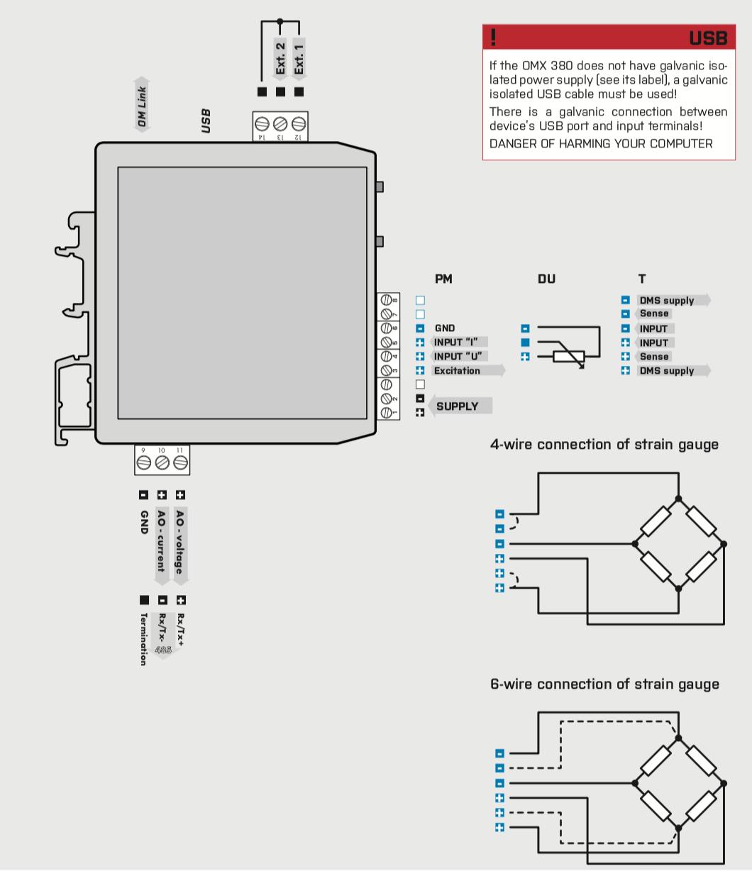 Cách đấy dây Module chuyển đổi tín hiệu loadcell sang 4-20ma
