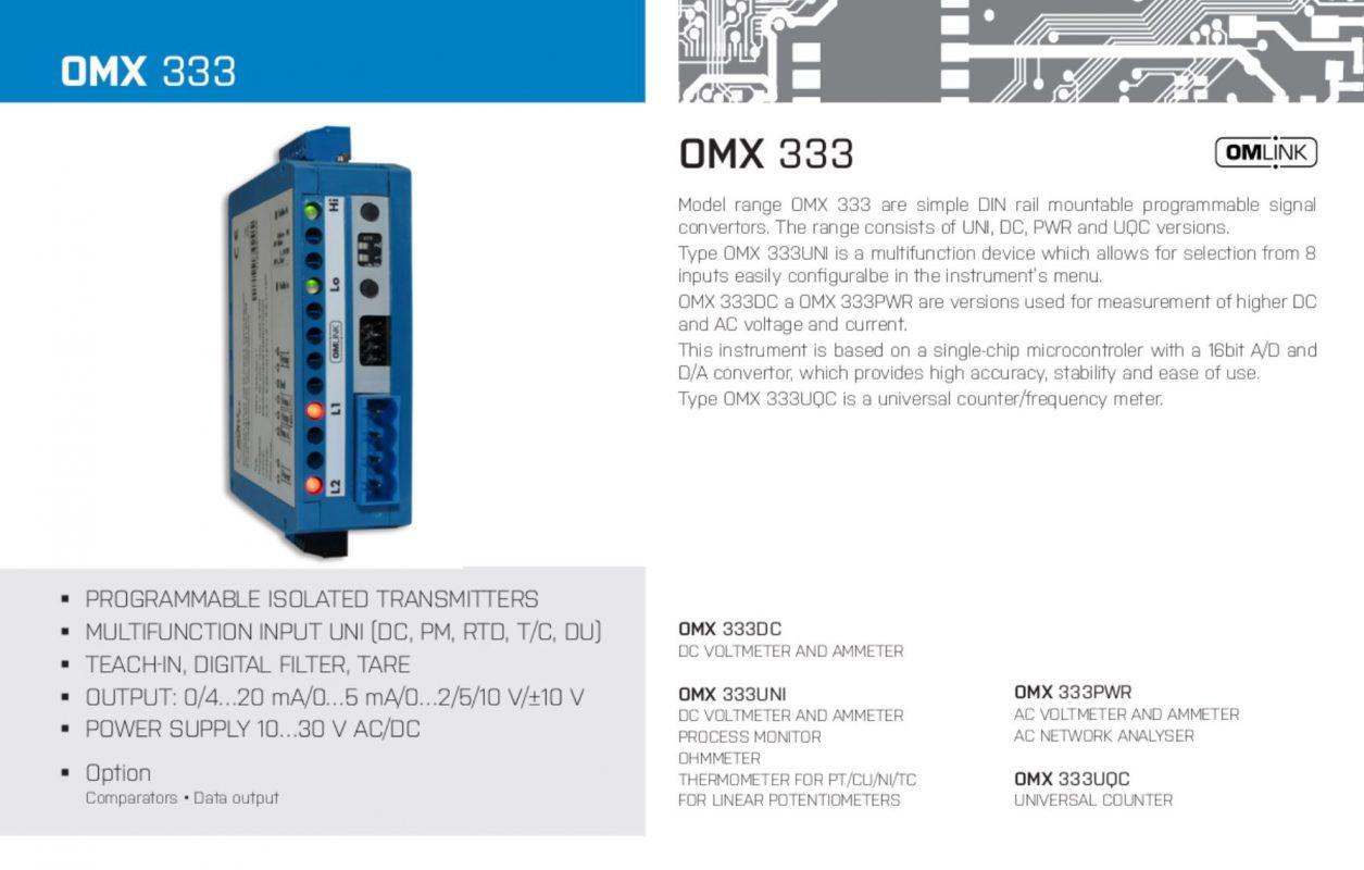 Bộ cách ly tín hiệu OMX333UNI