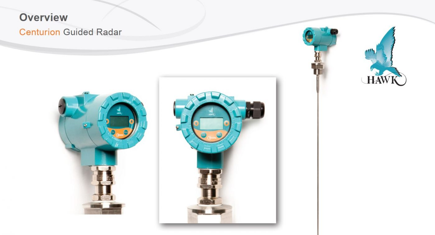 Cảm biến radar đo mức dạng que