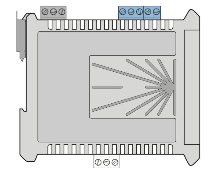 Bộ Chuyển Tín Hiệu 4-20mA sang 0-10v OMX39PM