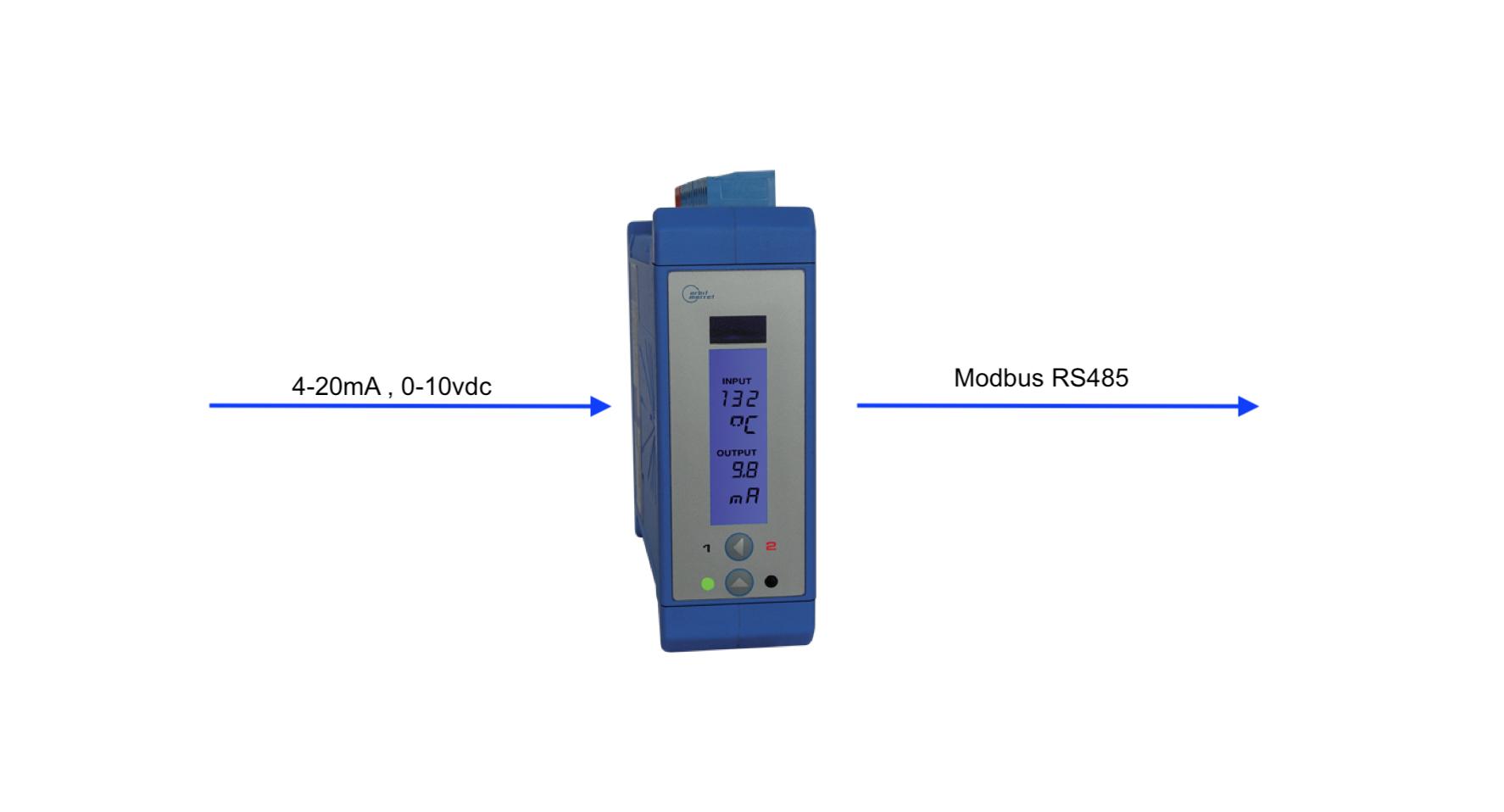 Bộ Chuyển Tín Hiệu 4-20mA sang RS485