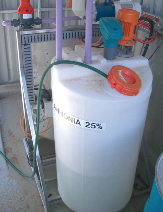Đo mưc nước trong thùng chứa