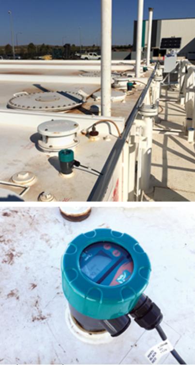 Cảm biến giám sát bể chứa dầu