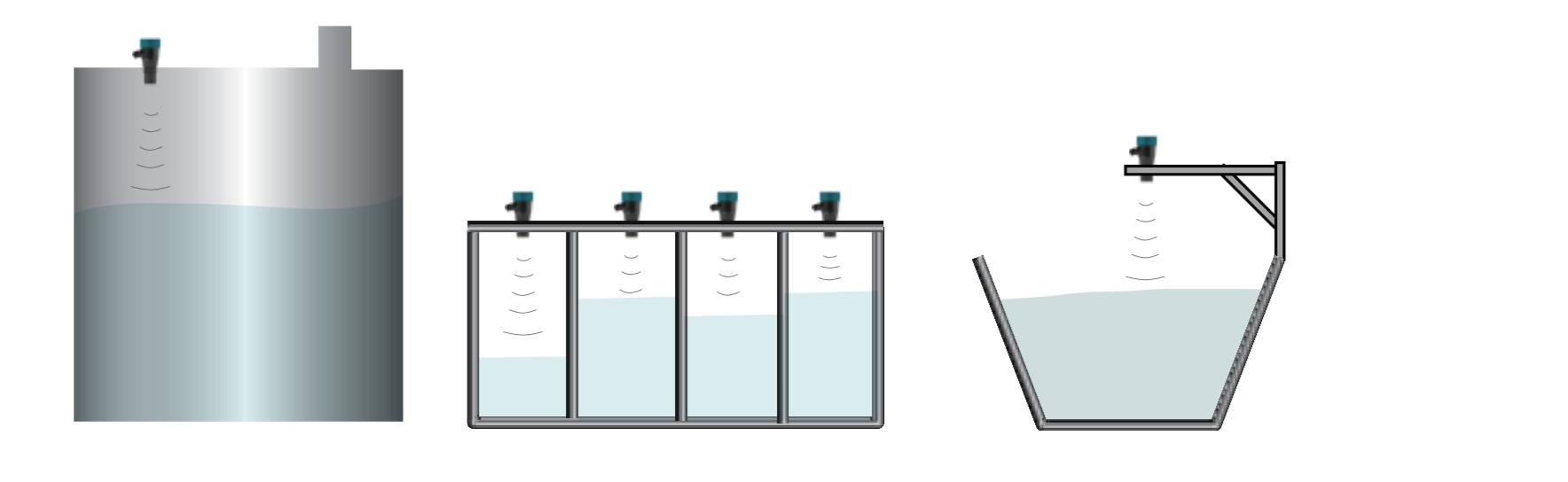 Cách lắp Kích thước cảm biến mức nước 4-20mA