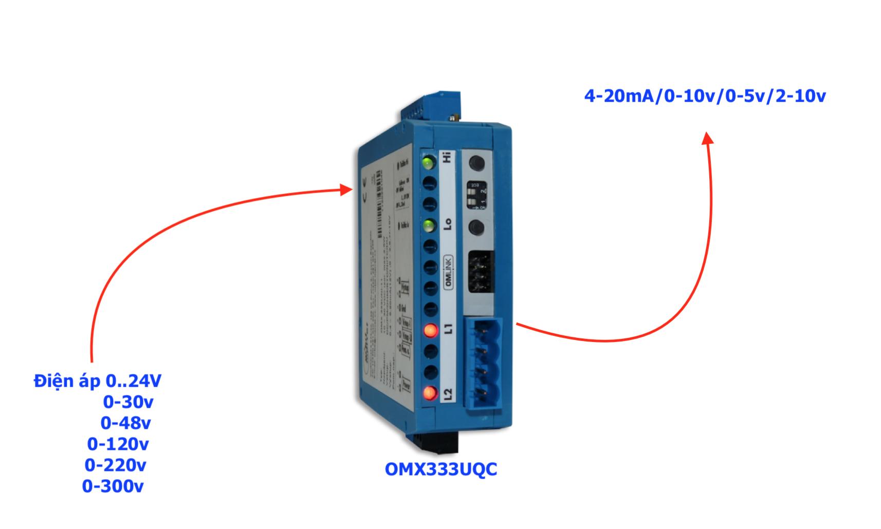 Bộ chuyển điện áp sang 4-20mA