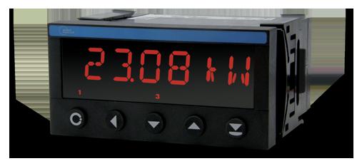 Bộ hiển thị công suất với dòng vào 0-5A, 0-1A