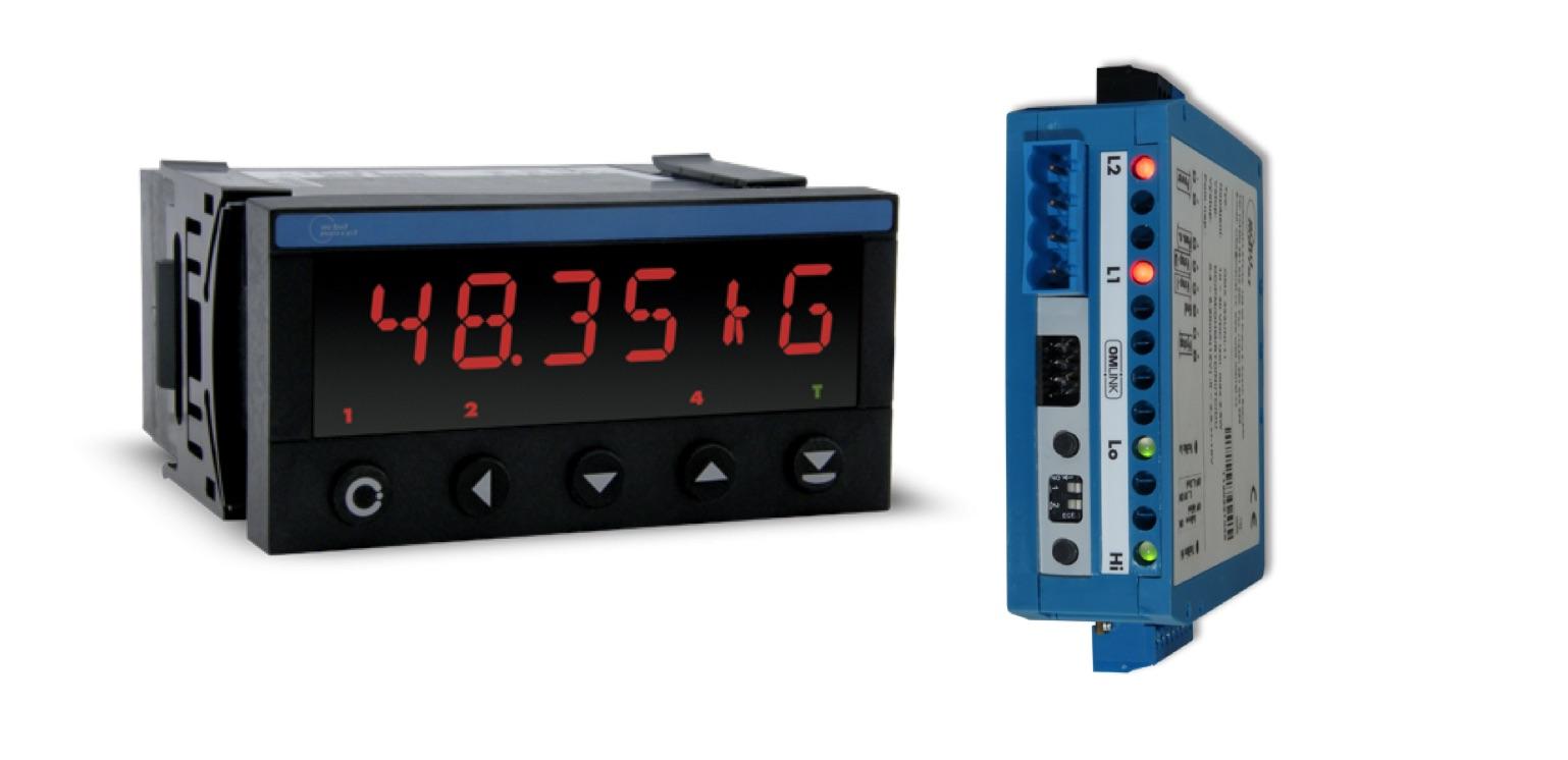 Bộ chuyển tín hiệu loadcell và bộ hiển thị giá trị loadcell