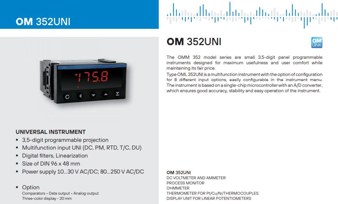 Bộ điều khiển OM352UNI-1A211