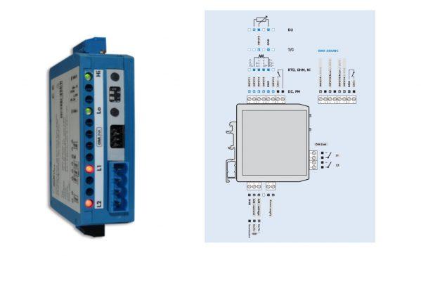 Bộ chuyển áp suất sang Relay - OMX333-111