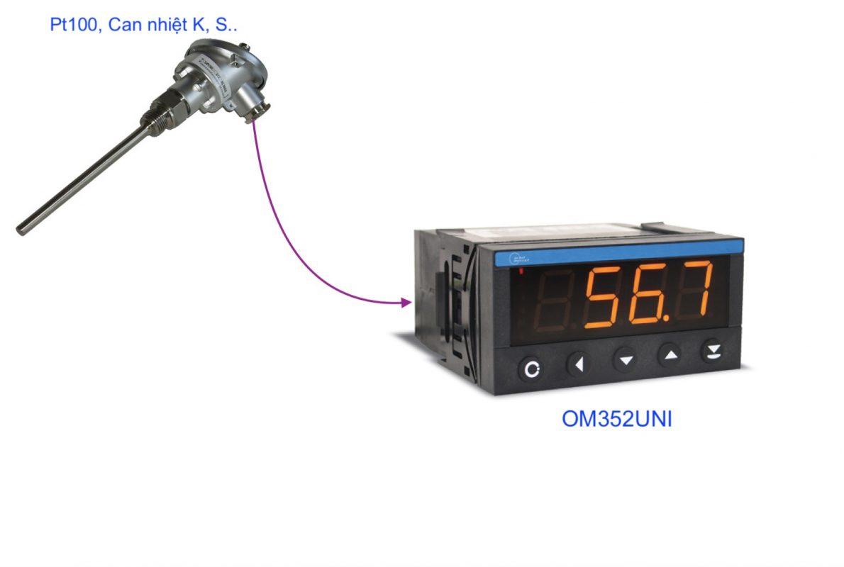 Bộ hiển thị nhiệt độ - OM352UNI