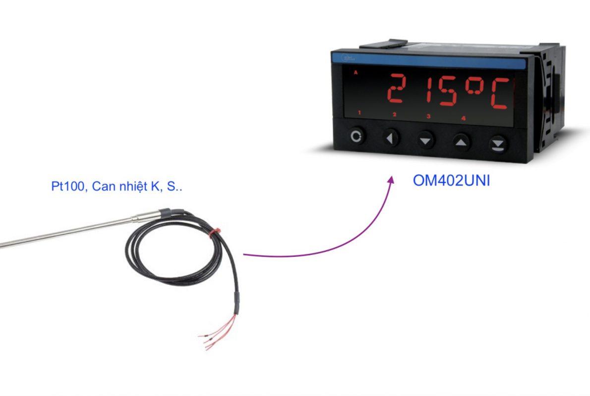 Bộ hiển thị nhiệt độ - OM402UNI