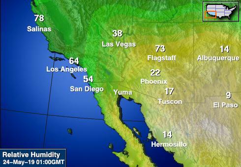 Độ ẩm tương đối được dùng dự báo thời tiết