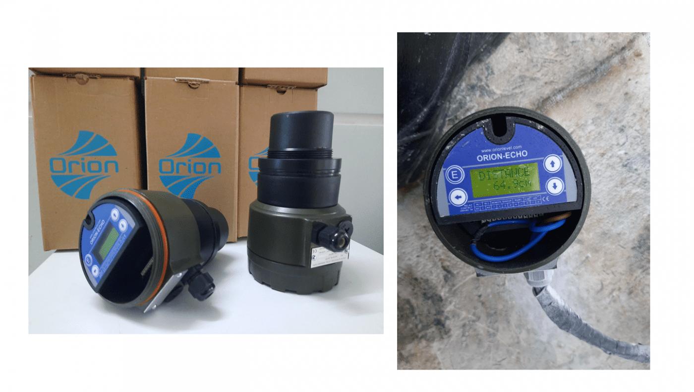 Lắp đặt cảm biến đo mức siêu âm