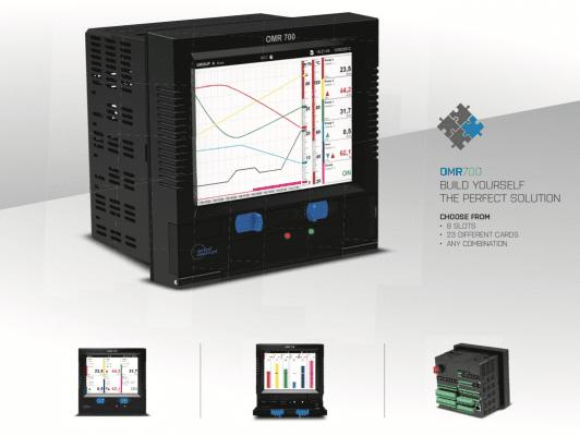 Bộ ghi dữ liệu analog - OMR700