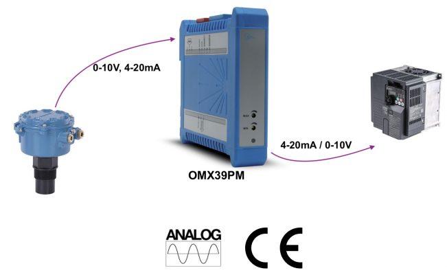 Module chuyển đổi analog 4-20mA / 0-10V