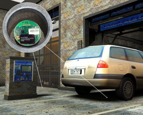 Ứng dụng cảm biến siêu âm trong phát hiện xe