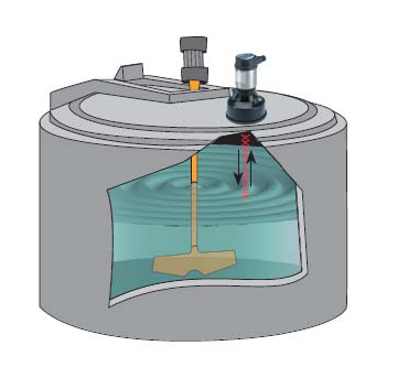Mô phỏng cảm biến siêu âm trong bể chứa