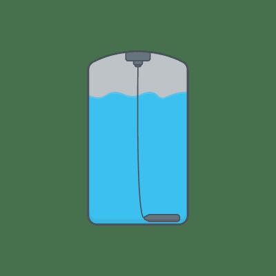 Cảm biến thuỷ tĩnh thả vào trong bể chứa