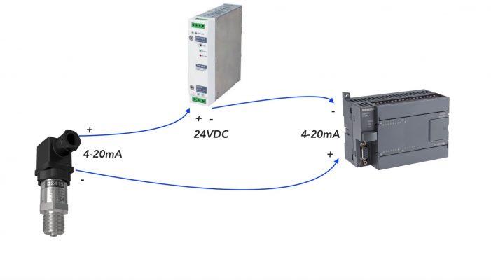 Cách đấu dây cảm biến áp suất thông dụng
