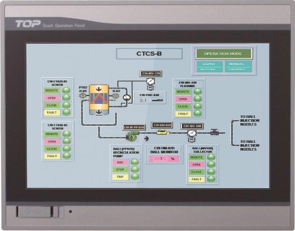 Một HMI đã được lập trình trong thực tế