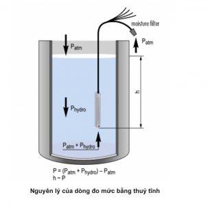 Mô tả nguyên lý đo bằng áp suất