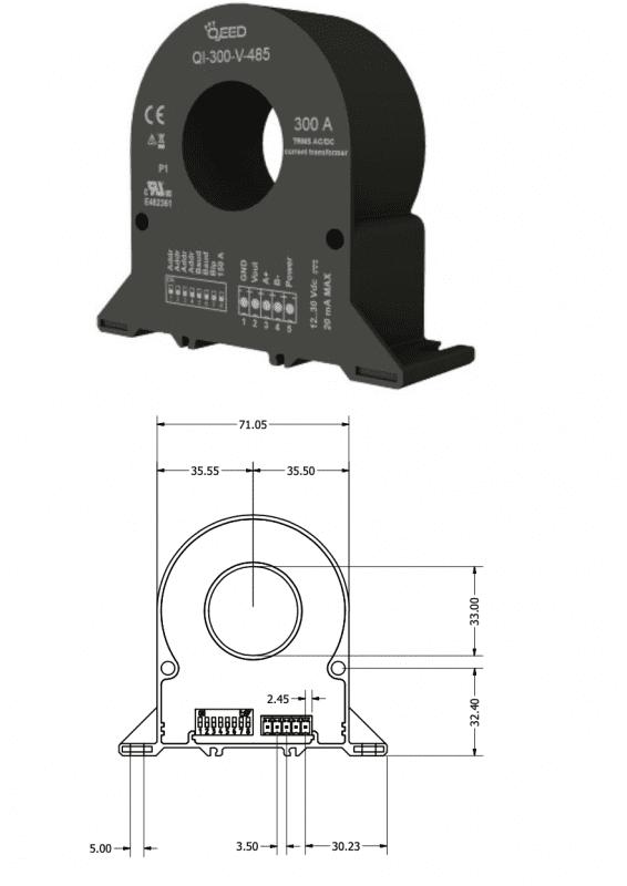 Biến dòng ngõ ra RS485