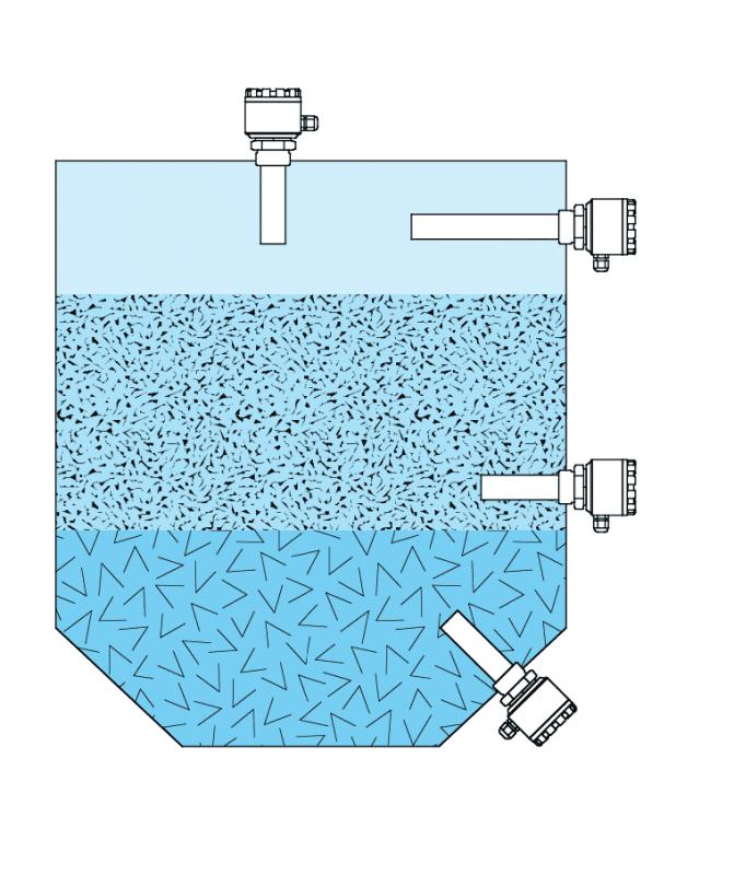 Cách lắp cảm biến điện dung đo mức