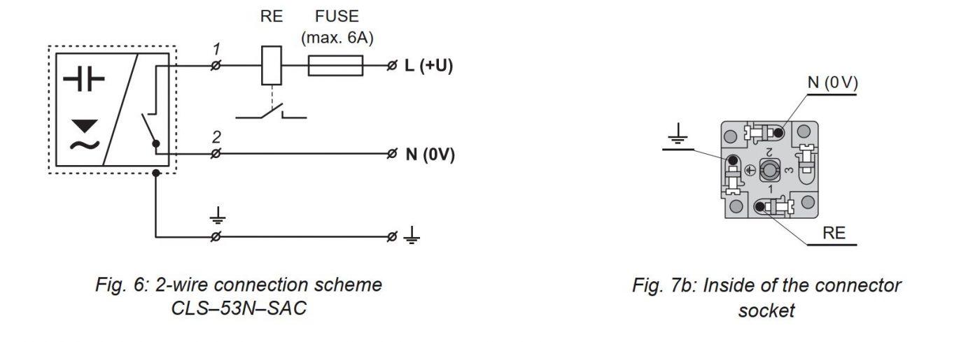 Cách đấu dây CLS-53N-SAC