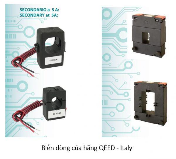 Biến dòng của hãng QEED - Italy