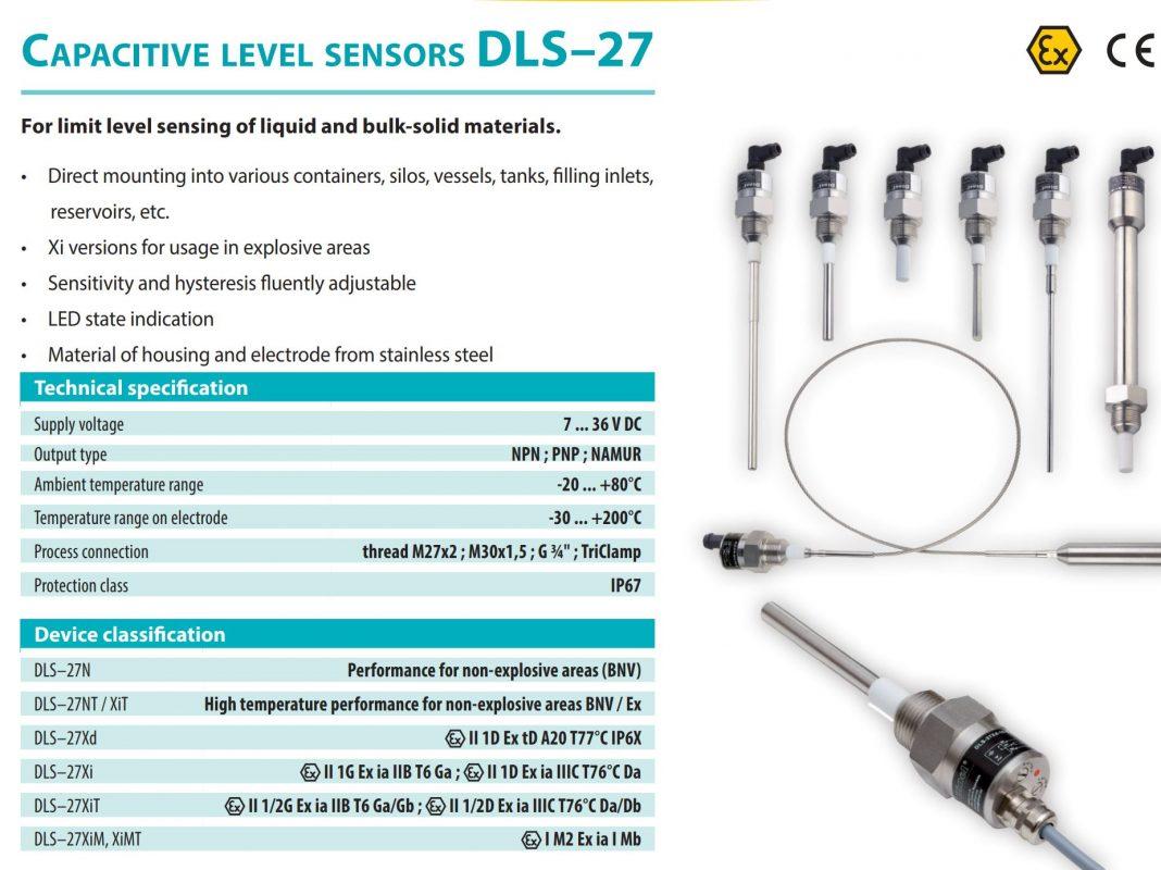 Cảm biến đo mức hóa chất DLS-27N-31